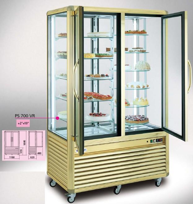 Vetrine per pasticcerie drop in refrigerati prezzi for Arredamento pasticceria prezzi